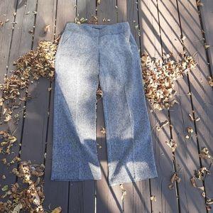 NWOT 7th Aven Grey Space High Waist Wide Leg Pants